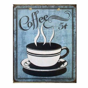 Coffee - Πίνακας Χειροποίητος 20x25 εκ