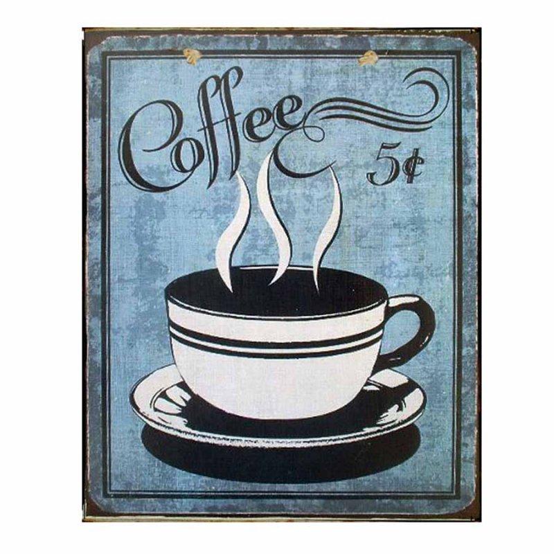 Coffee - Πίνακας Χειροποίητος 2305