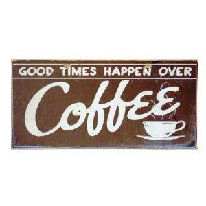 Coffee Times - Χειροποίητο Διακοσμητικό Πινακάκι