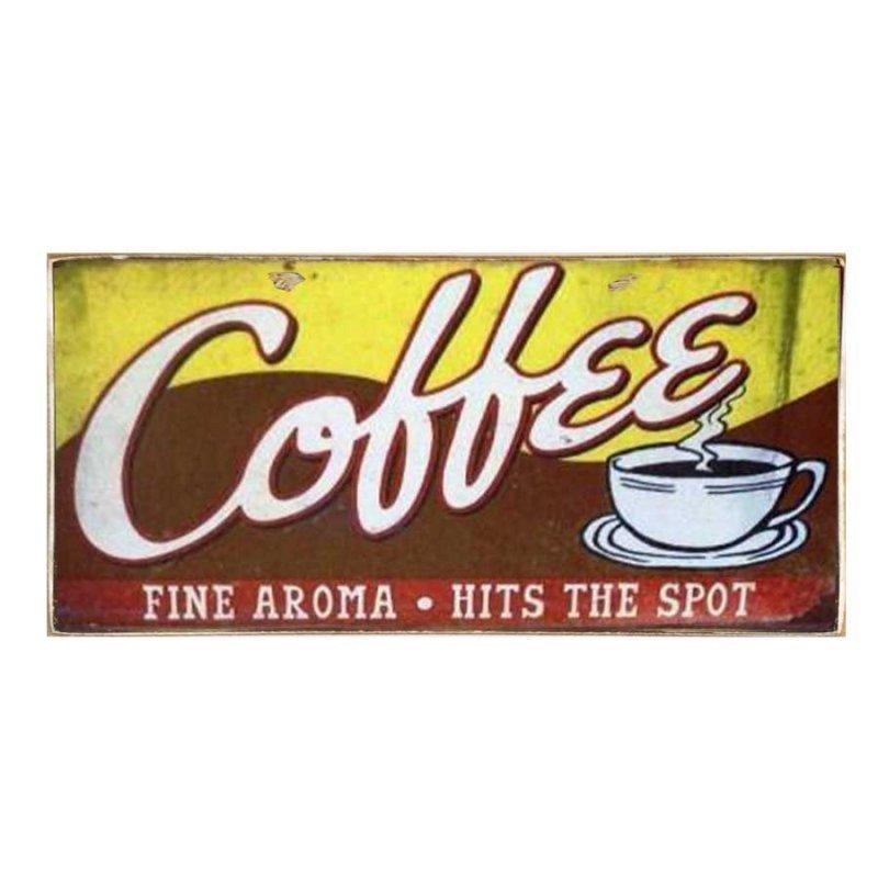 Coffee - Χειροποίητο Διακοσμητικό Πινακάκι
