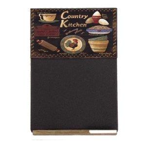 County Kitchen Ξύλινος Χειροποίητος Μαυροπίνακας 38 x 26 cm
