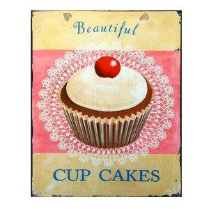 Cup Cake Πίνακας Χειροποίητος 2381