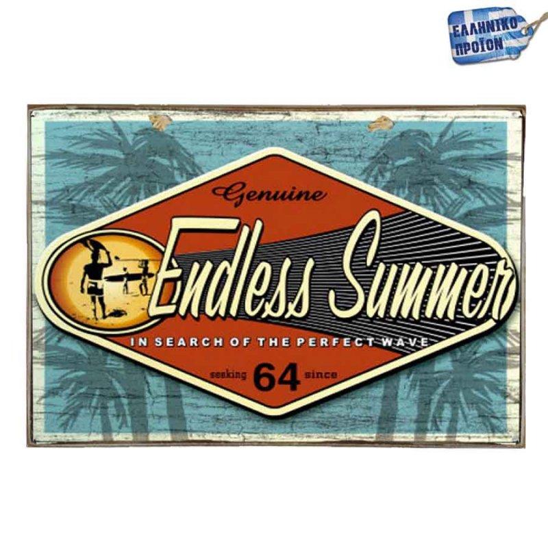 Endless Summer Vintage Ξύλινο Πινακάκι 20 x 30 cm