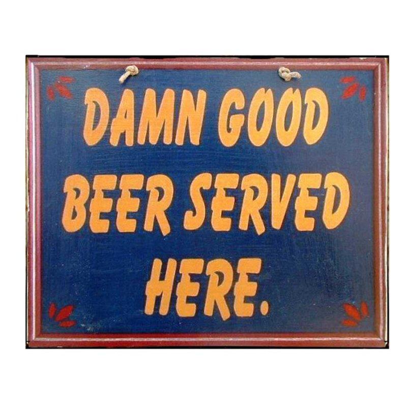 Good Beer - Vintage Πινακίδα Χειροποίητη