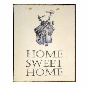 Home Sweet Home Χειροποιήτο Πινακάκι