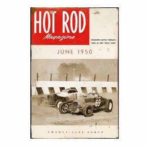 Hot Rod-Vintage Ξύλινος  Πίνακας 20 x 30 cm