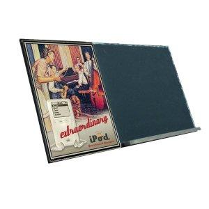 iPod  Ξύλινος Χειροποίητος Μαυροπίνακας 38 x 26 cm