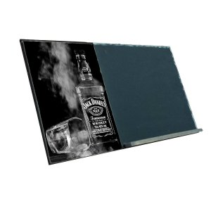 Jack Daniels  Ξύλινος Χειροποίητος Μαυροπίνακας 38 x 26 cm