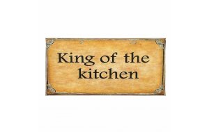 Kitchen King Πίνακας Χειροποίητος