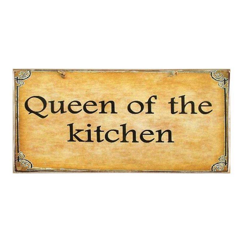Kitchen Queen Πίνακας Χειροποίητος
