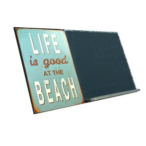 Life is Good  Ξύλινος Χειροποίητος Μαυροπίνακας 38 x 26 cm