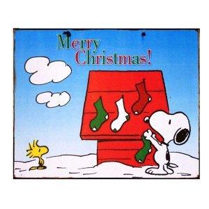 Merry Christmas - Χειροποίητο Διακοσμητικό Πινακάκι