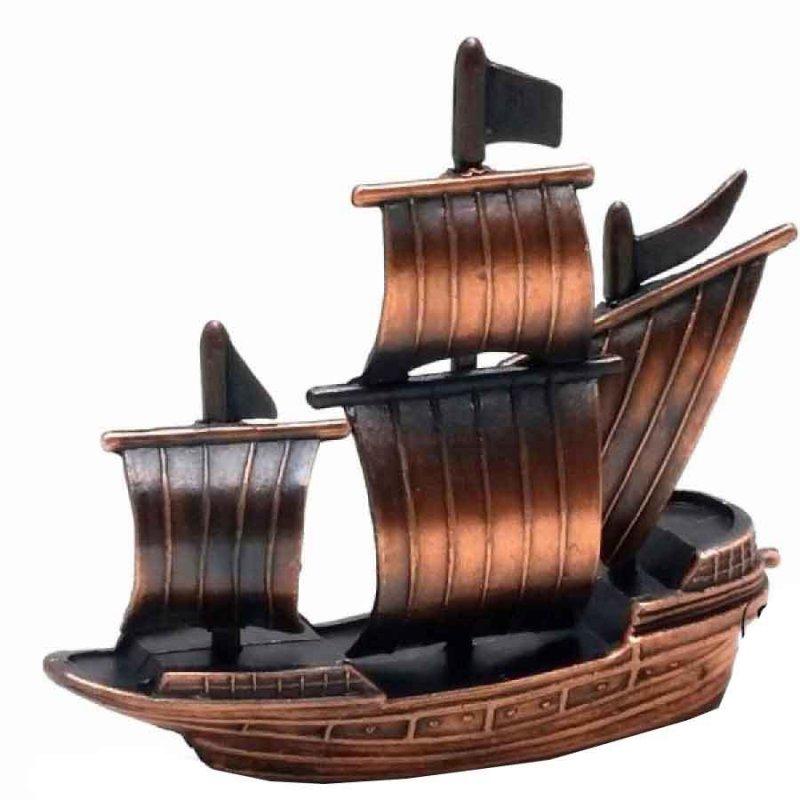 Μεταλλική Μινιατούρα και ξύστρα Καράβι 9cm