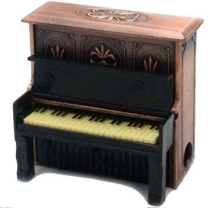 Μεταλλική Μινιατούρα και ξύστρα Πιάνο 5cm
