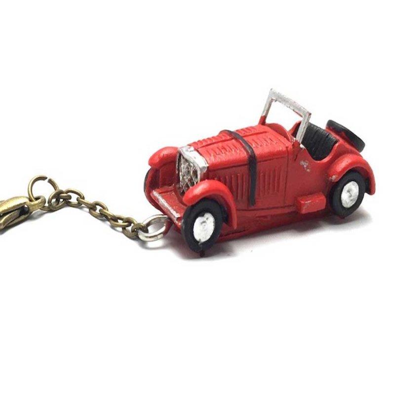 Μεταλλικό μπρελόκ μινιατούρα αυτοκίνητο 5cm κόκκινο
