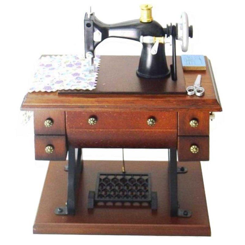 Μουσικό Κουτί Vintage Ραπτομηχανή 9 x 15 cm