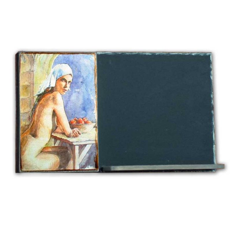 Nude Woman - Χειροποίητος Μαυροπίνακας 26 X 38