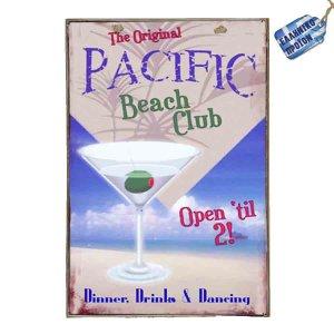 Pacific Vintage Ξύλινο Πινακάκι 20 x 30 cm