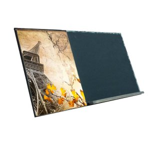 Paris  Ξύλινος Χειροποίητος Μαυροπίνακας 38 x 26 cm