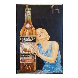Persan - Ρετρό Πίνακας Χειροποίητος  20cm X 30cm
