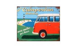 Πίνακας ρετρό χειροποίητος - Campervan