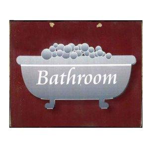 Πίνακας xειροποίητος για το μπάνιο