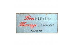 Πίνακας Χειροποίητος Love - Marriage
