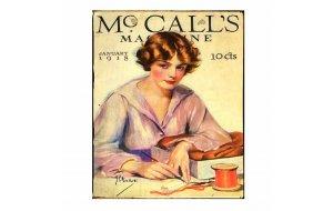 Πίνακας Χειροποίητος  με διαφήμιση Mc call's