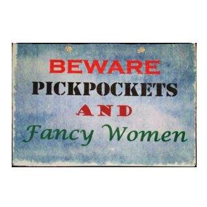 Πίνακας Χειροποίητος με χιουμοριστικές προειδοποιήσεις