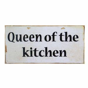 Πίνακας Χειροποίητος  Queen of the Kitchen