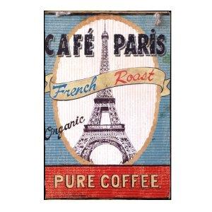 Sign Πίνακας Χειροποίητος Café Paris