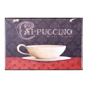 Sign Πίνακας Χειροποίητος  Cappuccino