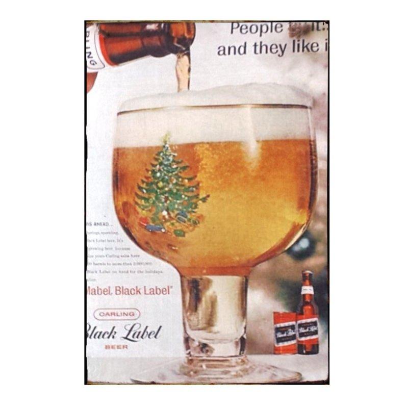 Sign Πίνακας Χειροποίητος Carling Beer