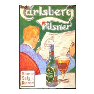 Sign Πίνακας Χειροποίητος Carlsberg