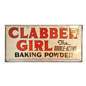 Sign Πίνακας Χειροποίητος Clabber Girl 13cm X 26cm  KIR-1306