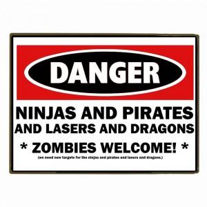 Sign Πίνακας Χειροποίητος Danger!