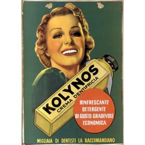 Sign Πίνακας Χειροποίητος Kolynos' 21cm X 30cm