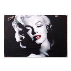 Sign Πίνακας Χειροποίητος Marilyn Monroe Black/white