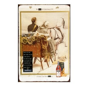 Sign Πίνακας Χειροποίητος Martell Cognac 21x30 KIR-1302