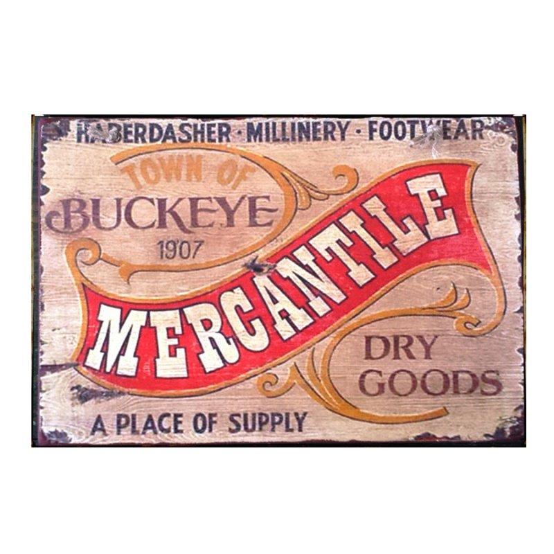 Sign Πίνακας Χειροποίητος Mercantille