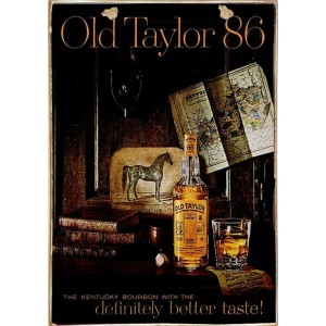 Sign Πίνακας Χειροποίητος Old Taylor 86 21cm X 30cm