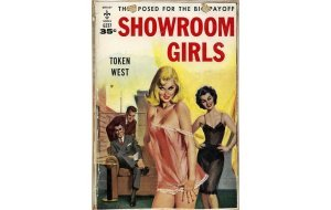 Sign Πίνακας Χειροποίητος Showroom Girls 21cm X 30cm