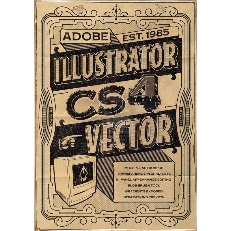 Sign Πίνακας Χειροποίητος Vintage Adobe 21cm X 30cm