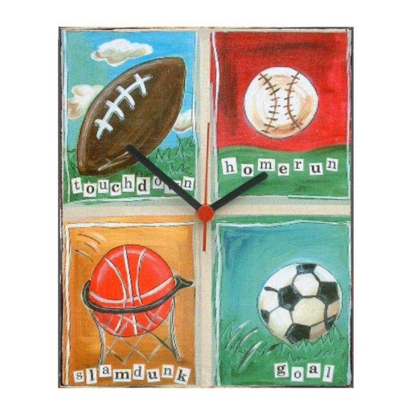 Sports - Ρολόι τοίχου χειροποίητο
