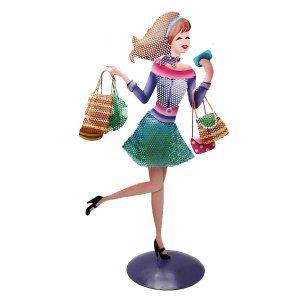 Στάντ Κοσμημάτων Shopping Girl 40cm
