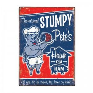 Stumpys Vintage Ξύλινος  Πίνακας 20 x 30 cm | Echo Deco