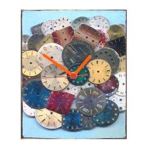 Time pieces - Ρολόι τοίχου χειροποίητο