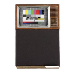 Tv Ξύλινος Χειροποίητος Μαυροπίνακας 38 x 26 cm