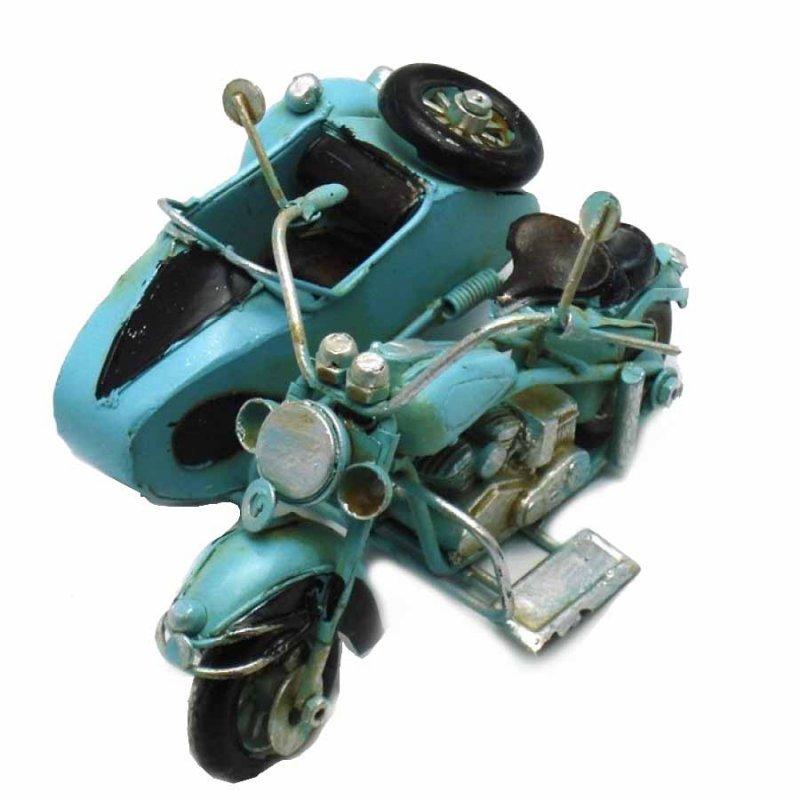 Vintage Διακοσμητικό - Μηχανή Καλάθι 10cm