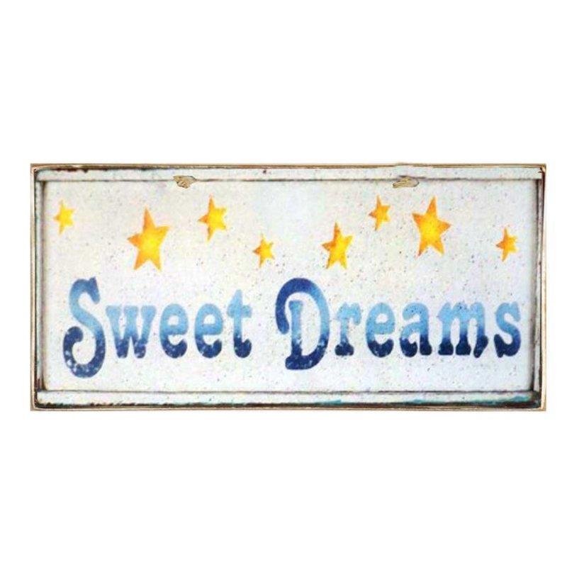 Vintage Χειροποίητο Πινακάκι Sweet Dreams